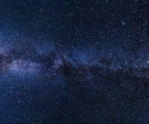 milky way, galaxy, and stars image