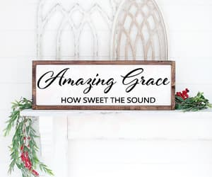 amazing grace, interior designs, and cricut image