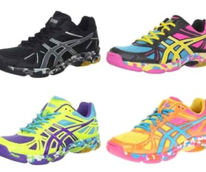 asics, running shoes, and footwear image