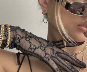 accessoires, glasses, and girl image