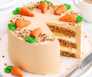 cake and carrot cake image