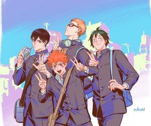 anime, yamaguchi, and haikyuu!! image