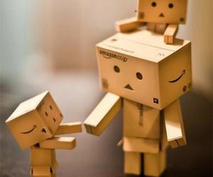 danbo and cardboard robot image