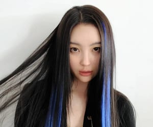 electric blue, sumni, and hair wicks image