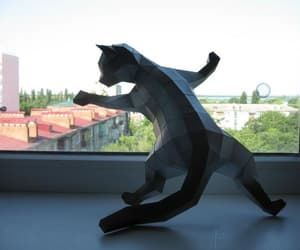 do it yourself, etsy, and 3d papercraft image