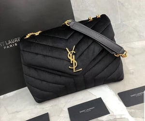 bag, black, and fashion image