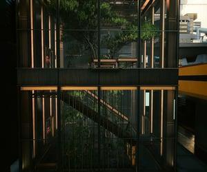 cyberpunk, glass, and city image