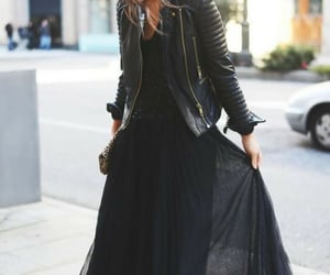 fasion, streetstyle, and blackstyle image