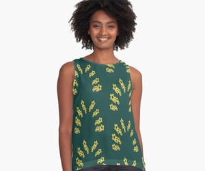 clothing, green, and fashion image