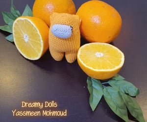 amigurumi, free, and fruit image