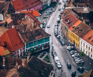 old town, romania, and sibiu image