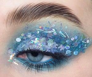 blue, cosmetics, and eyes image