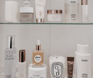 beauty, candles, and cosmetics image