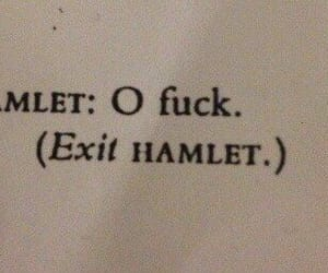 Hamlet, book aesthetic, and aesthetic image