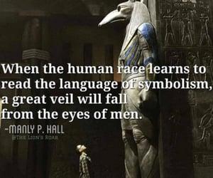 human race, language of symbols, and a great veil image