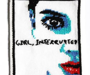 artsy, girl interrupted, and patch image