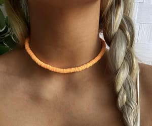 beach, chain, and earings image