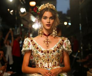 chic, Dolce & Gabbana, and gown image