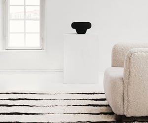 Scandinavian, carpet, and couch image