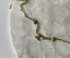 chanel, marble, and gold image