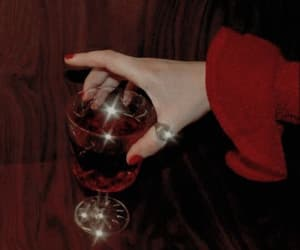 drink, girl, and luxury image