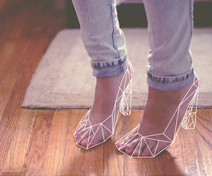 shoes, feet, and heels image