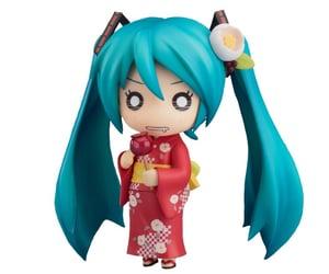 hatsune miku, kimono, and png image