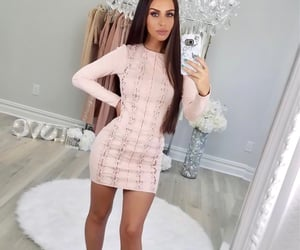 barbie, brunette, and style image