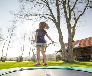 activity, fitness, and trampolines image