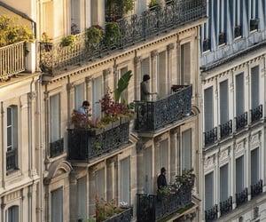 buildings, city, and paris image