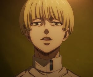 snk, yelena, and aot image