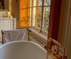 bathroom, bathtub, and room inspo image