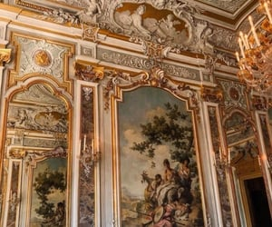 art, gold, and architecture image