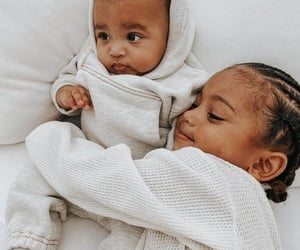 babies, the west, and kim k image