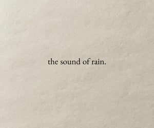 quotes, rain, and aesthetic image