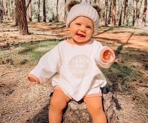 hi, babygirl, and nature image