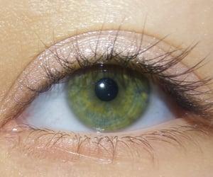 green, aesthetic, and eye image