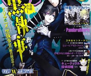 manga, sebastian michaelis, and black butler image