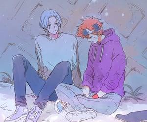 anime, kawaii, and bishounen image