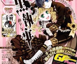 kuroshitsuji, ciel, and black butler image