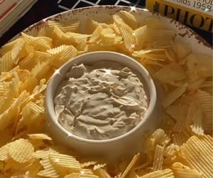 chips, food, and mayonnaise image