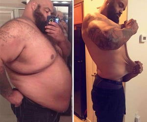 diet, weight loss, and body transformation image