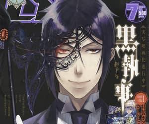 black butler, anime, and demon image