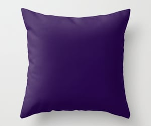 bedroom, pillows, and purple image