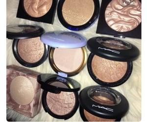 highlighter, mac, and makeup image