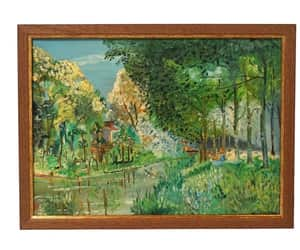 etsy, impressionist art, and french impressionist image