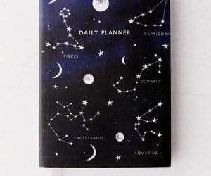 art, constellations, and moon image