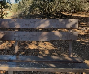 bench and initials image