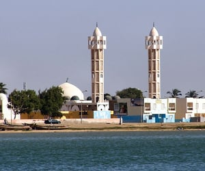 western africa, africa, and mosque image
