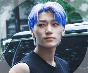 bluehair, ateez, and atiny image